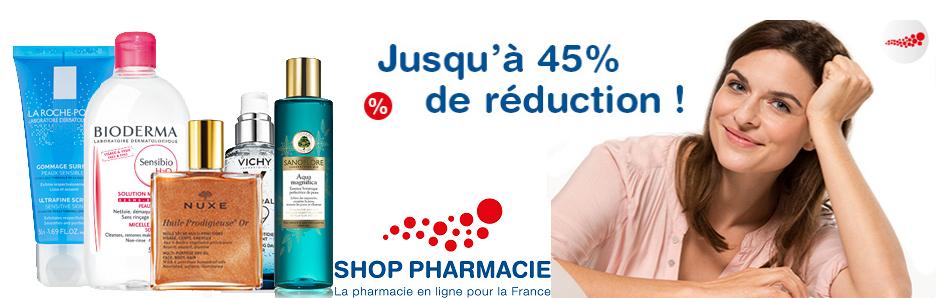 shop pharmacie是著名的线上药妆商城,品牌齐全,拥有10多年的零售历史