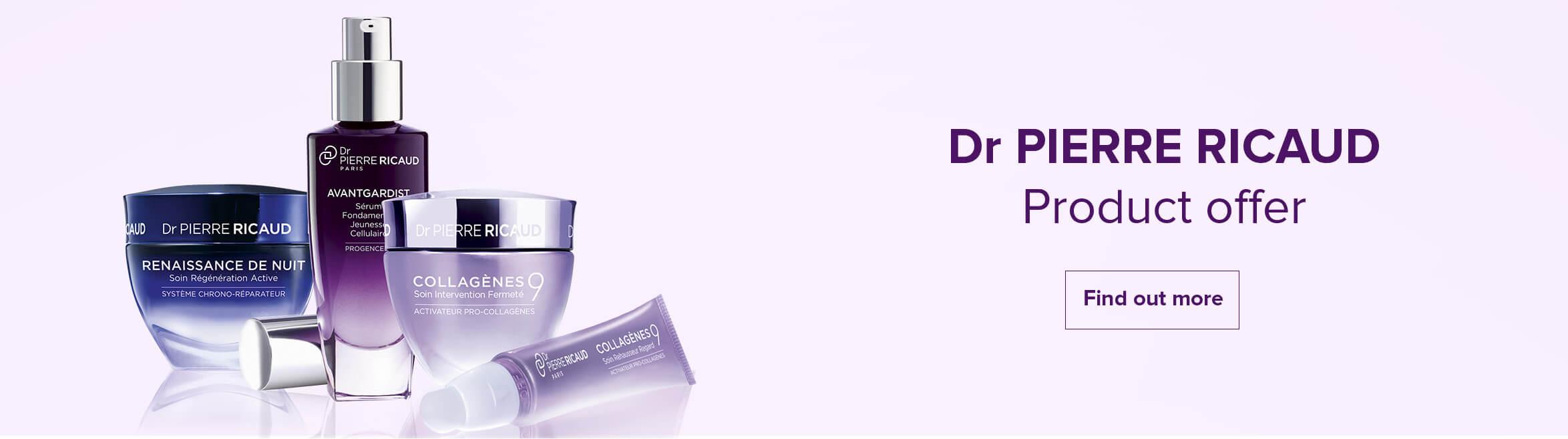 Dr Pierre Ricaud是法国Yves Rocher旗下的专业抗氧化抗衰老品牌